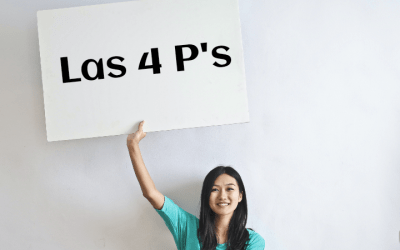 ¿Conoces las 4 P's del Marketing?