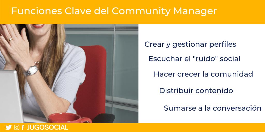Funciones Clave del Community Manager